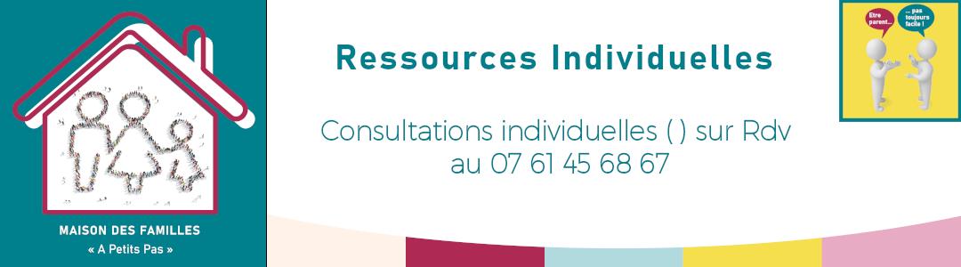 Espaces de ressources individuelles / consultations