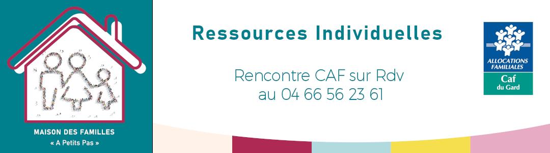 Espace de ressources individuelles /  Rencontre CAF